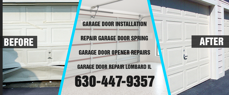 Garage Door Repair Lombard IL banner