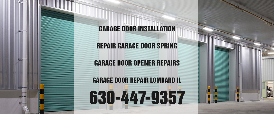commercial garage door lombard il