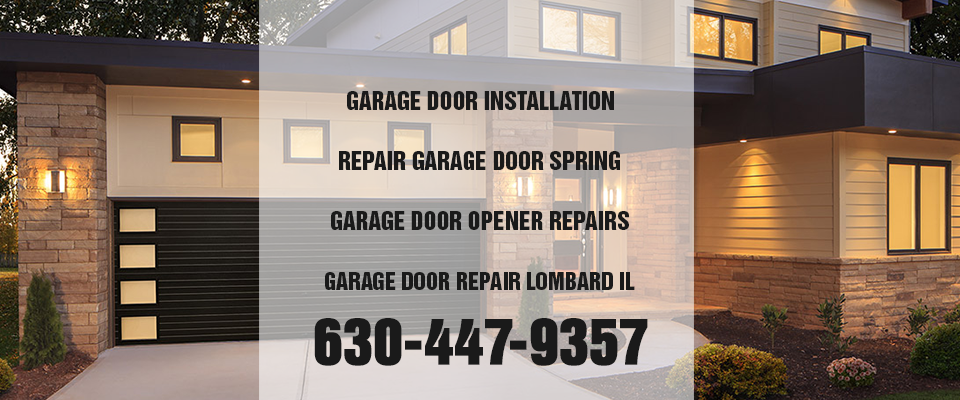 residential garage door lombard il