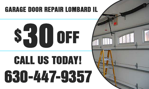 Garage Door Repair Lombard IL Coupon